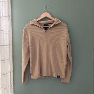 American Eagles Outfitters Tan Sweater Size M